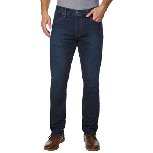 Tommy Hilfiger Men's Jean (36x30, Dark Wash) ()