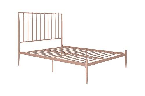 DHP Giulia Modern Metal Bed, Lavish and Chic 48.5-Inch Headb