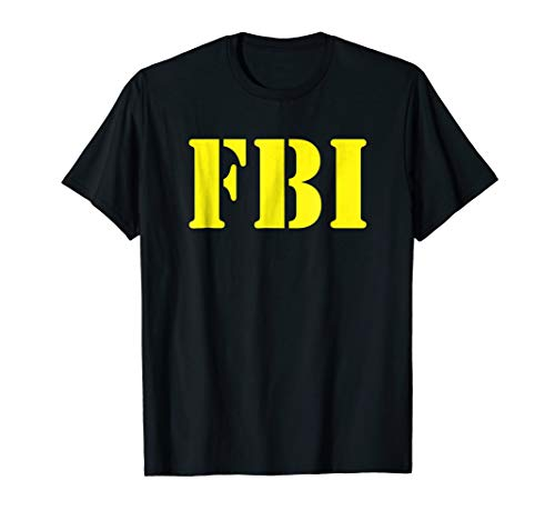 FBI Halloween Costume Shirt -