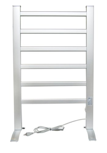 (LCM Home Fashion 6-Bar Freestanding Towel Warmer, Drying Rack)