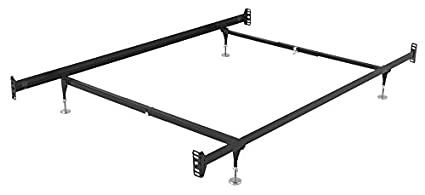 Amazon Com Metal Bed Frame With Hook On Headboard Footboard