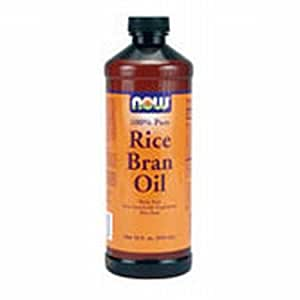 Amazon.com: NOW Foods 100% Pure Rice Bran Oil, 16 oz: Beauty