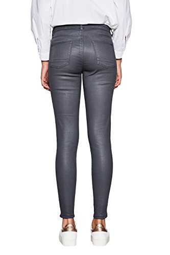 Mujer Esprit Gris 015 gunmetal Pantalones Para Exgq1PxSwa