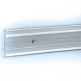 Chair Rail, Polycarbonate, 3 H x 8 L, Clear