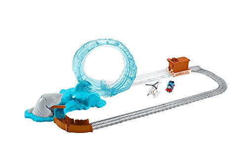 Fisher-Price Thomas & Friends Adventures, Shark Escape Train - Train Thomas And Friends Ride