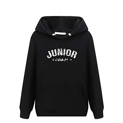 Casual O Tendances Sauvage Imprimer Et Neck Japonaises Sweatshirt Unisexe Noir5 Uface Sweat Longues Grande Taille Coréennes Blouse Tops Manches Femme Femmes YqW46wz