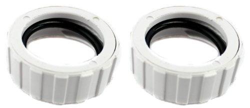 2) Polaris 9-100-3109 Original Cuffless Hose Nut for 360 Pool Cleaner 91003109