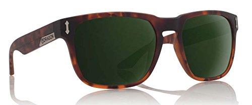 Dragon Alliance Monarch Sunglasses, Matte Tortoise/Green - Shades Dragon