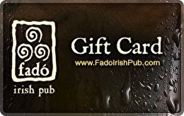 (Fado Irish Pub Gift Card ($25))
