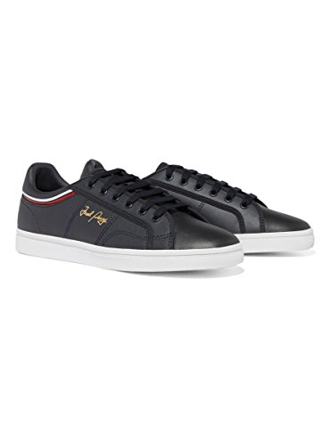 Sneaker Fred Perry Sidespin Blu Navy 40 Blue