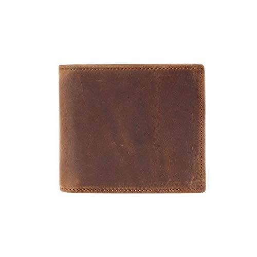 Marrone Da Frontale Brown Sottile By colore In Cerniera Naxinf Pelle Portadocumenti Con Uomo Portafoglio Morbida aHwqqx5Y7