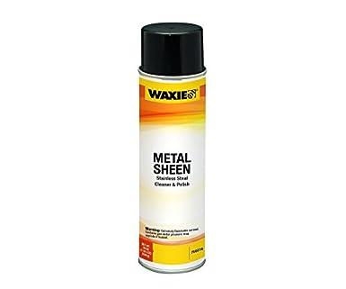 Amazon.com: Waxie Sheen inoxidable robar Limpiador de metal ...
