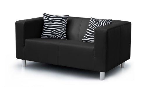 Vorschaubild B-famous Sofa Cube, PU, schwarz