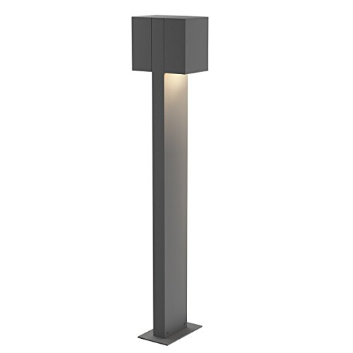 28In. Led Double Bollard (Box Sonneman)
