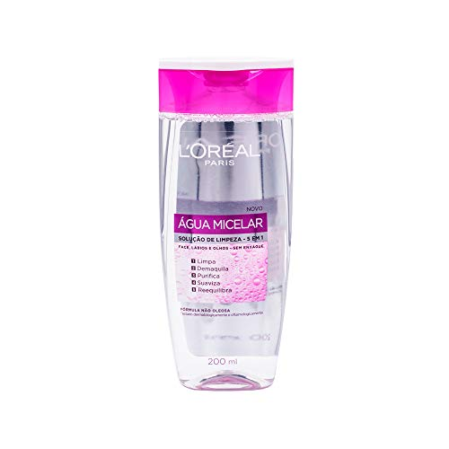 Solução de Limpeza Facial 5 em 1 L'Oréal Paris - Água Micelar