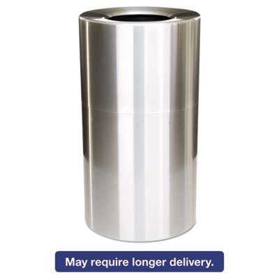 2-Piece Open Top Indoor Receptacle, Roun - Waste Receptacles Round Containers Shopping Results