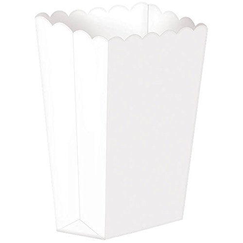 Popcorn Boxes, Small | White | Party Accessory -