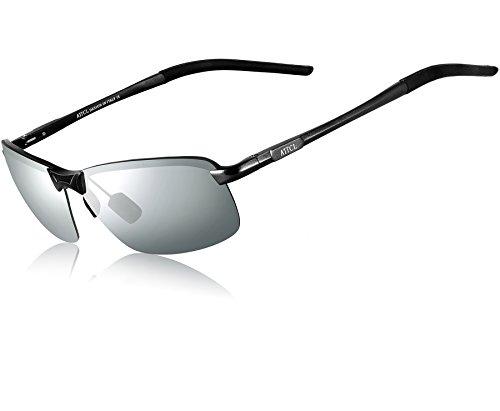 Al De Hombre Uv400 Polarizado Marco ATTCL Jaune Súper Metal Gafas De Sol Mg Ligero gEqdqx8w