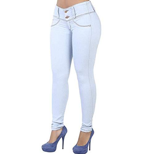 Di Dei Rxf A Chiaro Matita Colore Pantaloni Jeans Donna Bassa Della Vita Casuali 3 wIIgzq