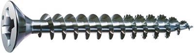 SPAX #8 x 2-1/2in. Flat Head Unidrive Zinc Coated Screw - 1 LB Box from Spax