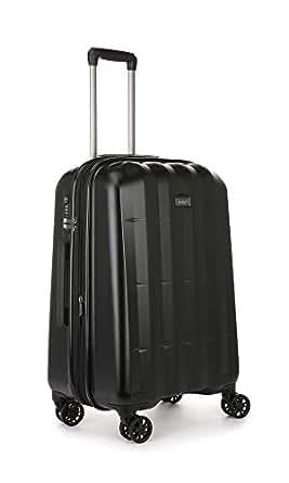 Antler Global 4W Medium Suitcase (Hardside), Black, 67 Cm