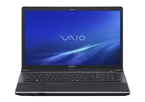 Sony VAIO VGN-AW180Y/Q 18.4-Inch Laptop (2.80 GHz Intel Core 2 Duo T9600 Processor, 4 GB RAM, 2 x 128GB Solid State Drive + 500GB Hard Drive, Blu-ray Drive, Windows 10) Black