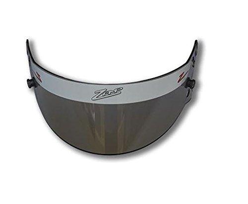Zamp Men's Full-Face-Helmet-Style Z-20 Series Amber Shield (Amber, Medium)