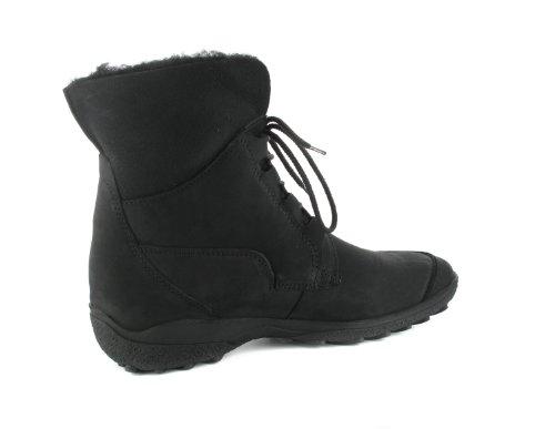 SALE-wERNER winterstiefeletten-femme-noir-chaussures en matelas grande taille