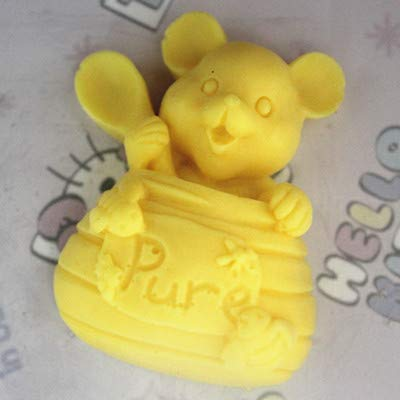 Silicone Mold - C153 Soap Mold Handmade Silicone Die Silica Gel Cute Mouse - Cross Cake Skull Bomb Treats Cream Maker Safe Chocolates Jewels Making Soaps Assortment Horn Vintage Emoji Circle Ho