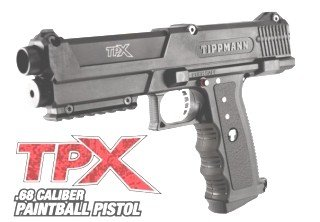 Tippmann Pepper Gun Semi-automatic Pistol by Tippmann
