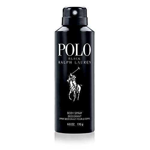 Polo Black By Ralph Lauren Body Spray For Men 6 Oz