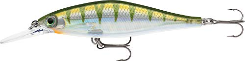 Rapala Shadow Rap Shad Deep 09 Perch SDRSD09YP: Shadow Rap Shad Deep 09 Perch, Yellow