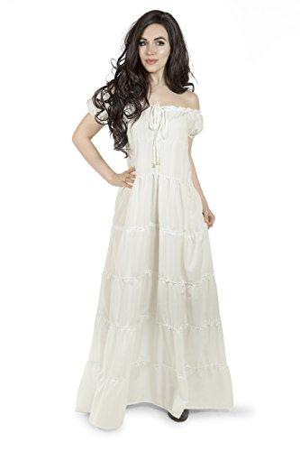 Reminisce Boho Dress Unsmocked Tiered Chemise -