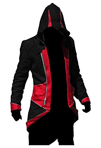Credo Giacca Cosplay Infinite Dell' Rosso Pro nero Assassino Inception qzxIv
