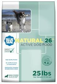 Kent Nutrition Blue Seal Natural 26 Active Dog 25 Lbs. High Quality Protein, No Artificial Color or Preservatives, Nutritionally Complete with Added Vitamins and ()