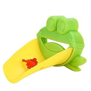 Creativo rubinetto flessibile extender lavello maniglia estensione bambino bambino plastica bagno bambini lavaggio a… 31XYhY0%2B63L. SS300