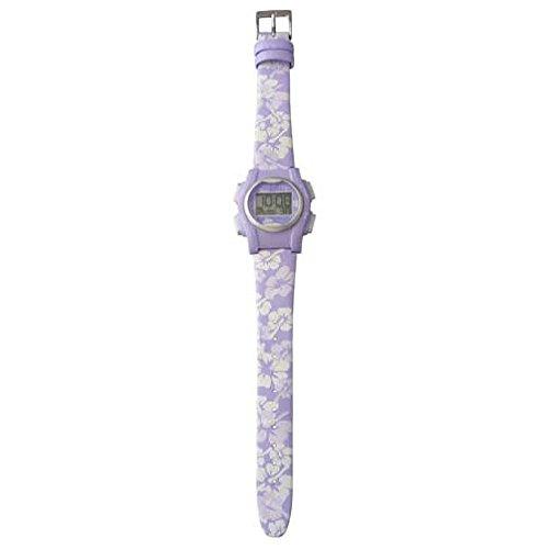 VibraLITE Mini 12-Alarm Vibrating Watch - Purple Flower
