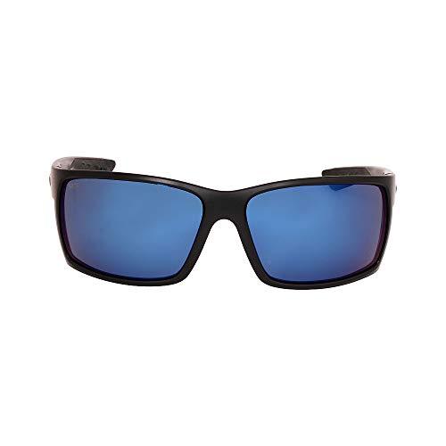 - Costa Del Mar Reefton Sunglasses Blackout / Blue Mirror 580Plastic