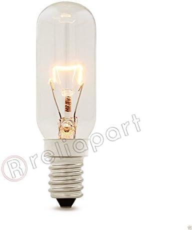 Reliapart - Bombilla universal para campana extractora (E14, 40 W, 230 – 240 V, T25L): Amazon.es: Grandes electrodomésticos