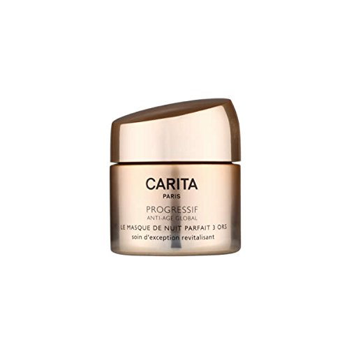 Carita Progressif Anti-Age Global Perfect Overnight Mask Trio of Gold, 1.7 (Carita Skin Mask)