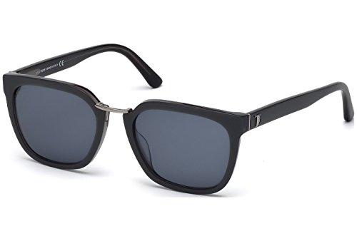 Price comparison product image Tod's TO0148 - 92V Dark Blue Square Sunglasses