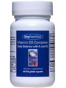 Allergy Research Group - Vitamin D3 Complete 60 caps