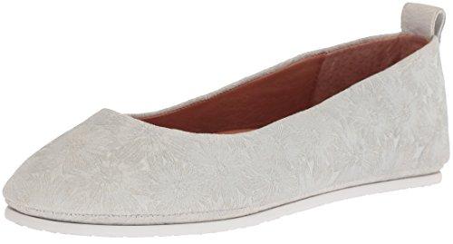 Douces Âmes Femmes Dana Slip Ballet Plat Perle. chaussures; cuir; importé;  semelle en caoutchouc ...