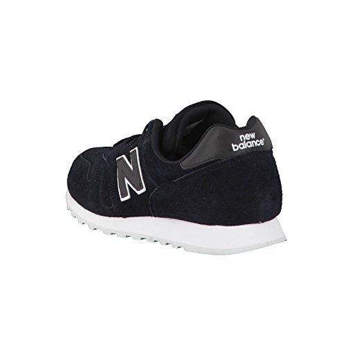 New Balance 373, Zapatillas para Hombre Negro (Black)