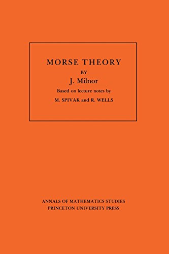 Morse Theory (Annals of Mathematics Studies : Vol 51)