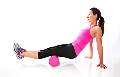Product Stop, Inc Maintains Shape After Moderate to Heavy Use and Is Perfect for All Body Types. Pink Exercise Foam Roller with Trigger-Point Design - Massages, Soothes, Refreshes And Invigorates by Product Stop, Inc (Image #3)
