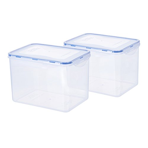 144oz/17.9cup Airtight Rectangular Tall Food Storage Contain