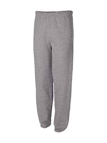 (Jerzees 8 oz Sweatpant (973M) No Pockets Available in 10 Colors - Oxford 973M S)