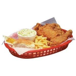 Update International (BB107R) Oval Fast Food Baskets [Set of 12] by Update International (Image #1)