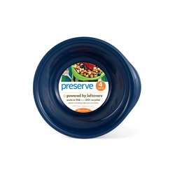 Preserve 16 Ounce Everyday Bowls - Midnight Blue, Case Of 8 - 4 Packs by Preserve